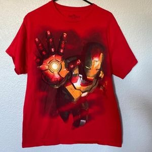 Iron man novelty t shirt